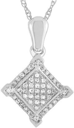 Non Branded Lb Exclusive 14K 0.11 Ct. Tw. Diamond Necklace