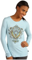 Prana Soul L/S Tee (Sterling) - Apparel