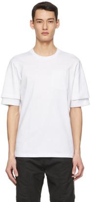 Diesel White T-FONTAL T-Shirt