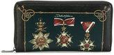 Dolce & Gabbana medal wallet - men - Leather - One Size