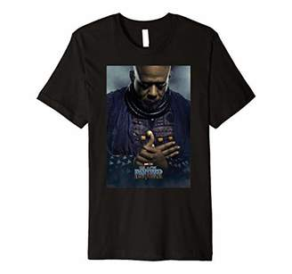 Marvel Black Panther Zuri Character Poster Premium T-Shirt