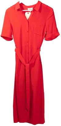 Sã©Zane SAzane Spring Summer 2019 Red Silk Dresses