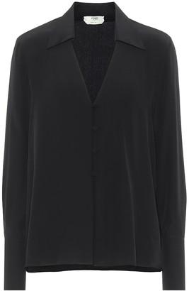 Fendi Silk crepe de chine blouse
