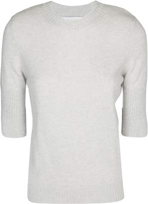 Barrie Knit Half Sleeves Sweater