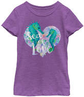 Fifth Sun Purple Berry 'Sea Love' Tee - Toddler & Girls