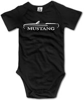 MonroeC Baby Boys Baby Girls 1964 Ford Mustang Convertible Onesies Outfits