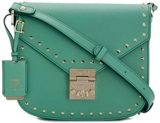 MCM Patricia studded shoulder bag