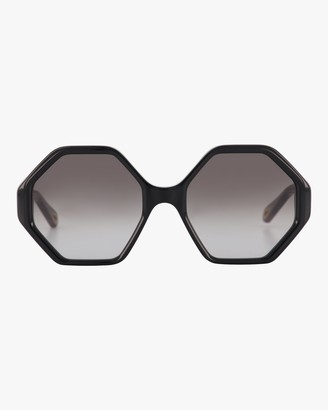 Chloé Hexagonal Sunglasses