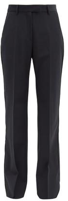 Golden Goose Amanda High-rise Wool-blend Trousers - Black