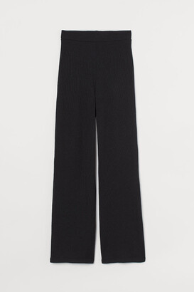 H&M Fine-knit trousers
