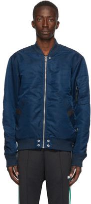 Diesel Reversible Navy J-Ross-Rev Bomber Jacket