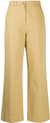 YMC Wide-Leg Trousers