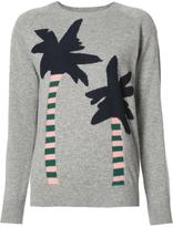 Chinti and Parker palm trees jumper - women - Cashmere - M