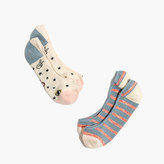 Madewell Two-Pack Good Vibes Low-Profile Socks