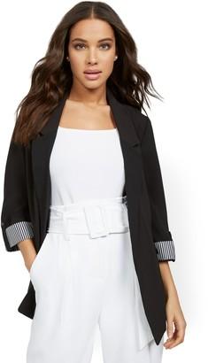 New York & Co. Madie 3/4-Sleeve Soft Blazer - 7th Avenue