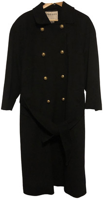 Jaeger Black Wool Coats
