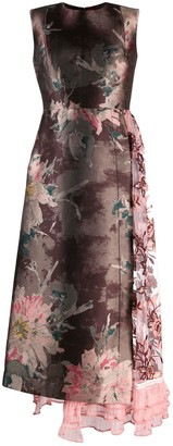 Antonio Marras Floral Patchwork Dress