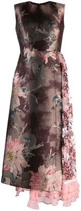 Antonio Marras Floral Patchwork Dress