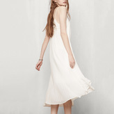 Maje Long pleated dress