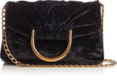 Stella McCartney Nina velvet clutch