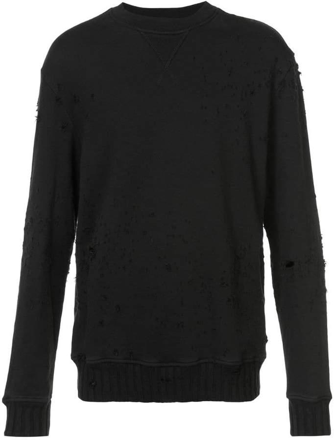 Amiri Shotgun crew neck sweater