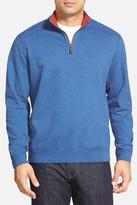 Tommy Bahama Flip Side Reversible Quarter Zip Pullover
