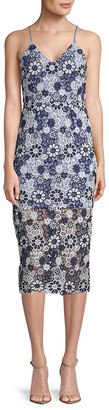 J.o.a. Floral Lace Dress