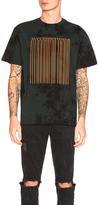 Alexander Wang Tie Dye Barcode Short Sleeve Tee