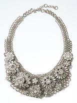 Banana Republic Crystal Flower Necklace