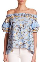 Peter Pilotto Off-The-Shoulder Blouse