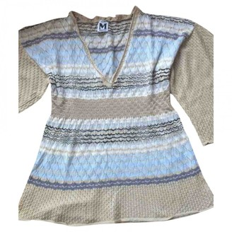 M Missoni Beige Cotton Top for Women