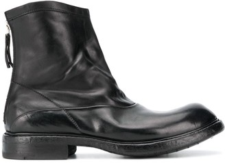 Premiata Soft Leather Ankle Boots