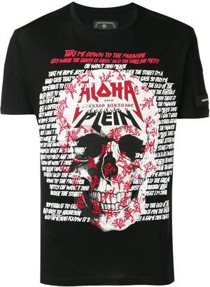 Philipp Plein Aloha print T-shirt