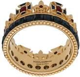 Dolce & Gabbana crystal crown ring