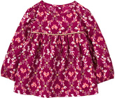 Gymboree Fuchsia Fox Bunny Floral A-Line Top - Infant