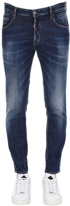 Dsquared2 X Pepsi 16cm Skater Stretch Cotton Denim Jeans