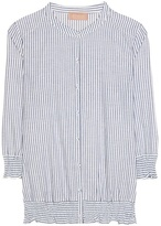 81 Hours 81hours Flash cotton and linen shirt