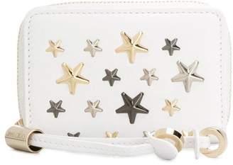 Jimmy Choo star-studded mini wallet