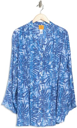 Ruby Rd Printed Quarter Sleeve Tunic