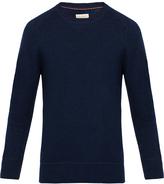 Nudie Jeans Dag Blue Fine Wool Sweater