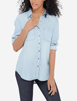 The Limited Eva Longoria Chambray Shirt