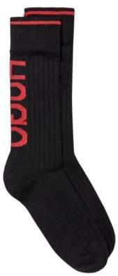 HUGO Boot socks with contrast reverse logo
