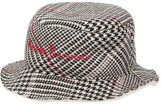 Ruslan Baginskiy Monogram Embroidered Pdp Buket Hat