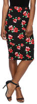 Moa Floral Printed Pencil Skirt
