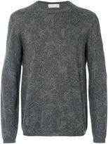 Etro stylized printed sweatshirt - men - Wool - S