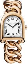 Ralph Lauren Small Link Rose Gold Watch