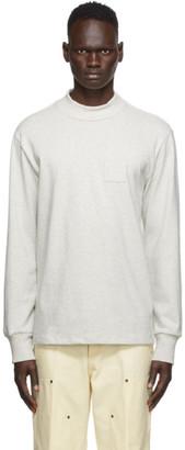 Aimé Leon Dore Grey Dimebag Long Sleeve T-Shirt