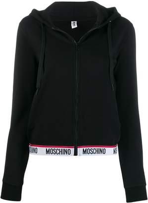 Moschino logo waistband hoodie