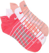 Nike Graph No Show Socks - 3 Pack - Women's
