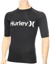 Hurley One & Only Rashguard - Short-Sleeve - Men's , M